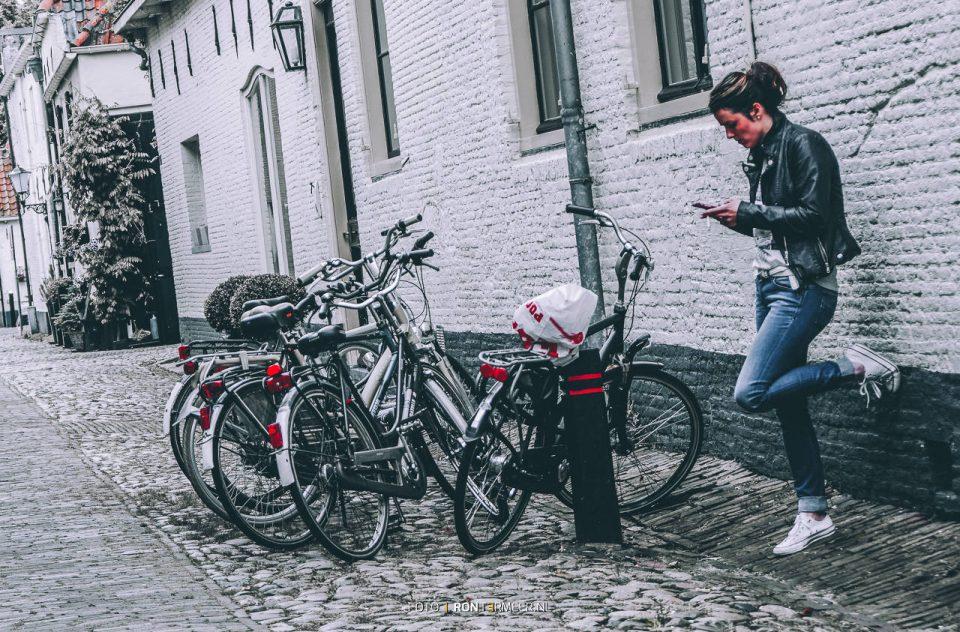 Pauze op straat