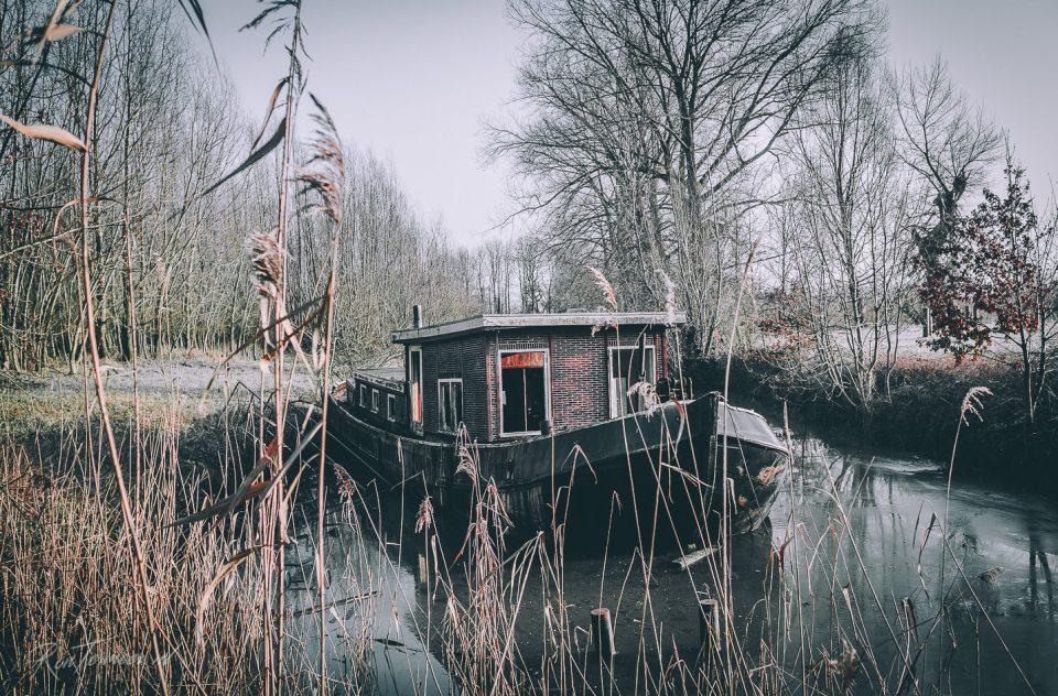 Urbex schip